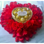 Flores,rosas,bombones,corazon De Rosas,envio Sin Cargo.