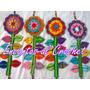 Colgante Flor Encantos Al Crochet