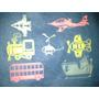 Transportes-mariposas-ranas-peces- Estrellas Fluorescentes
