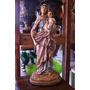 Figura Estatua Imágen María Del Rosario De San Nicolas