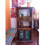 Mueble Rustico En Pinotea Con Cajones Puertas Y Estantes