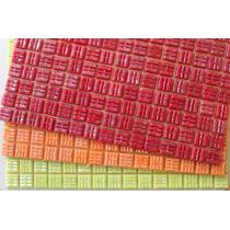 Plancha 225 Venecitas Murvi Rojo Naranja Amarillo