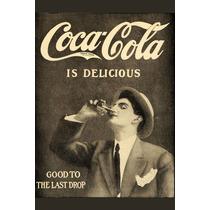 Carteles Antiguos En Chapa Gruesa 20x30cm Coca Cola Dr-006