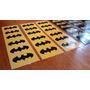 Stickers Batman Y Batichica Autoadhesivos X 24 - Souvenirs