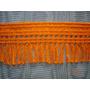 Pasamaneria - Galon Naranja Opaco - Con Flecos