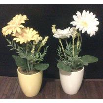 Flores Artificiales En Macetas