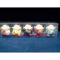 Gatos De La Fortuna - Maneki-neko - Pack De 5 Gatitos