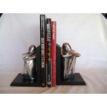 Prensa Libros Sujeta Libros Madera Y Metal
