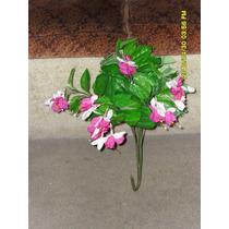 Planta Artificial Con Flor