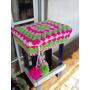 Fundas Para Sillas, Bancos, Banquetas, Almohadones..crochet