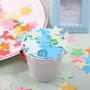 Confetti.decoración. Eventos.infantiles.troquelado.papel