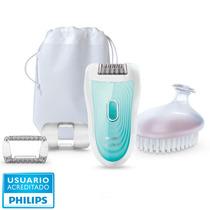Depiladora Philips Hp6521 Rasuradora Uso Seco Y Humedo Skin