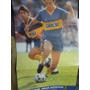 Poster . Revista Super Futbol . Boca Barcelona Batistuta