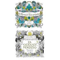 El Bosque Encantado / El Oceano Perdido - Johanna Basford