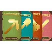 Minecraft - 4 Libros - Tapa Dura - Montena
