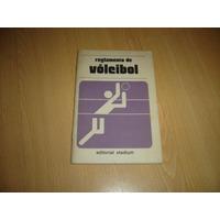 Reglamento De Voleibol Editorial Stadium Libro Voley