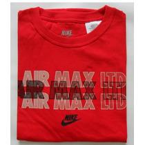 Remera Nike Manga Corta Rojo Hombre Talle Xl Original