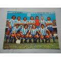Antiguo Foto Cromo Color - Racing Club Años 70 - Futbol