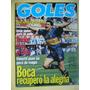 Maradona En Newells Mandiyu Lanus Boca / Revista Goles 1795