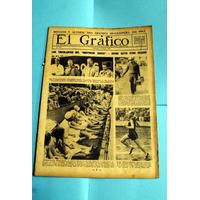 Revista El Gràfico Nº 573 Chacarita Vs. Independiente -river