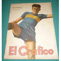 Revista El Grafico 1025 Jose Lizhterman Boca 1939 Giorgio