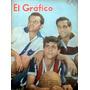 El Grafico - Quilmes, Chacarita, Platense - Nº2105 27/1/1960