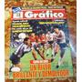 Vieja Revista El Grafico, N° 3563,1988, River