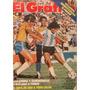 Revista Grafico 3196 Maradona Rummenigge Copa De Oro Menotti