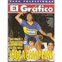El Gráfico 3820 B- Boca Campeon/ Roberto Cabañas/ San Pablo