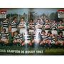 El Gráfico 3285 B-lamina Casi Campeon Rugby/ River 1 Boca 1