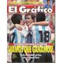 El Gráfico 3854 C- Colombia 2 Argentina 1- Eliminatorias Usa