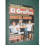 Revista El Grafico 3505 Argentina Campeon Kuzemka Gimnasia