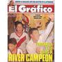 Revista Grafico 3767 River Plate Campeon Aventin Campeon
