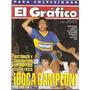 Revista Grafico 3820 Boca Juniors Campeon San Pablo Campeon