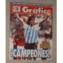 El Gráfico 3848 Argentina Campeón Copa América 1993