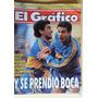 Boca Gimnasia Lp Poster Sic Campeon / El Grafico 3860 / 1993