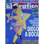 Maradona El Grafico Nº 3717 Con Poster De Newells