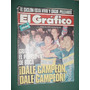 Revista Grafico 3741 Boca All Blacks Fangio Carreras Tavarez