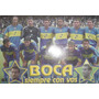 Poster Carton Oficial Boca Juniors Siempre Con Vos