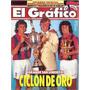 Revista Grafico 3881 San Lorenzo Copa Oro Mendoza Asad Velez
