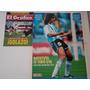 El Grafico Nº 3855 + Maxipóster Batistuta Selección Año 1993