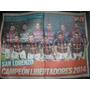Poster Muy San Lorenzo Campeon De America - No Envio