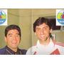 Poster Boca Juniors /river Plate - Maradona - Francescoli