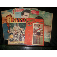 River Amistosos1947 / 48 / 56 / 57 / 58 Mundo Deport.-river