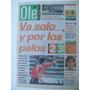 Diario Ole 9/9/1996 Velez 2 Independiente 3 / Graf / Sampras