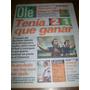 Diario Ole 24/2/1997 - Boca 2 Estudiantes Lp 1 / Oberto