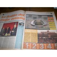 Diario Ole 5/7/1997- Nuevo Estadio Independiente / Najdorf