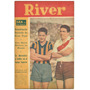 Revista River N° 110 Labruna Rosario Central Futbol 1946