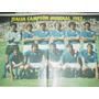 Lamina Seleccion Italia Campeon Mundial 1982 Italy Soccers