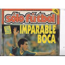 Revista Solo Futbol 29 De Abril De 1991 Boca Juniors